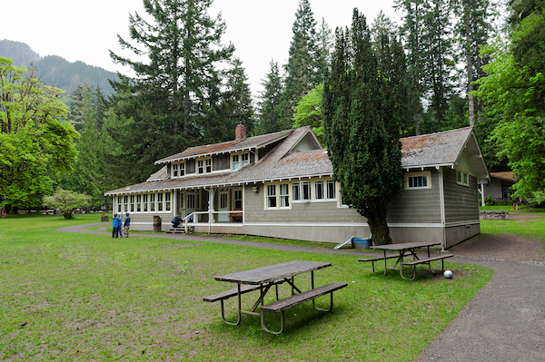 The historic Rosemary Inn on NatureBridge's Olympic National Park campus