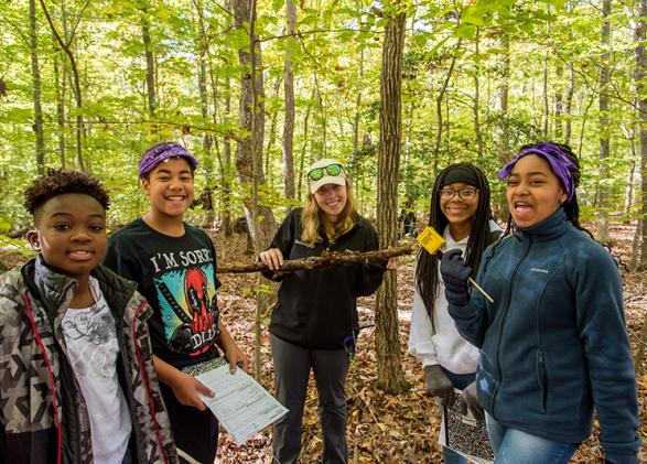 Environmental science school programs at NatureBridge