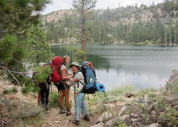 Armstrong Scholars backpacking