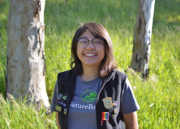 NatureBridge educator Brenda Ramirez