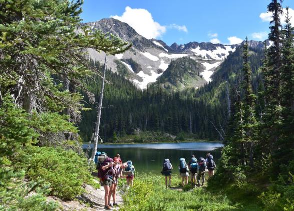 Backpacking and adventure in Olympic National Park