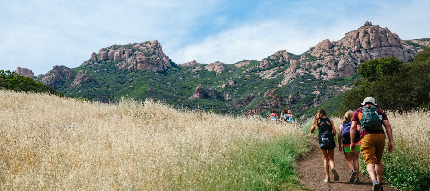 Santa Monica Mountains environmental science program