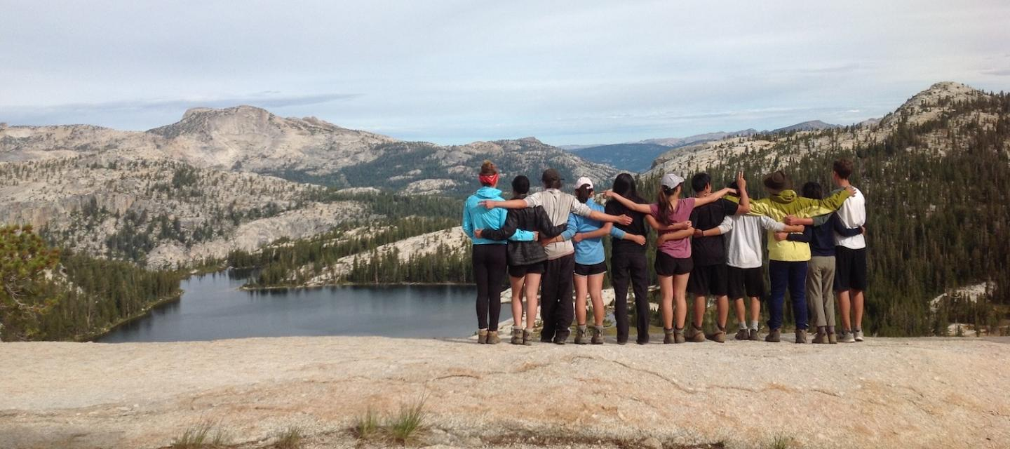 Forming friendships on the Yosemite Summer Backpacking program