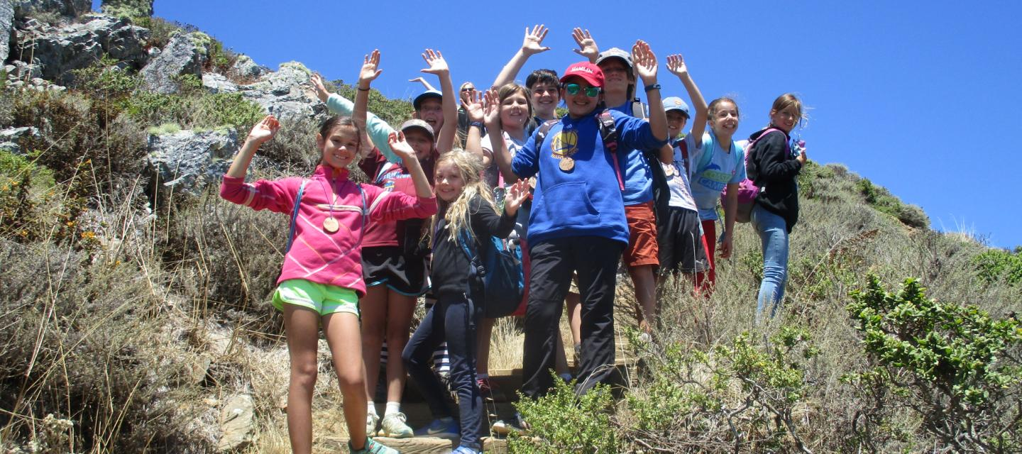 Coastal Campers at Golden Gate National Recreation Area