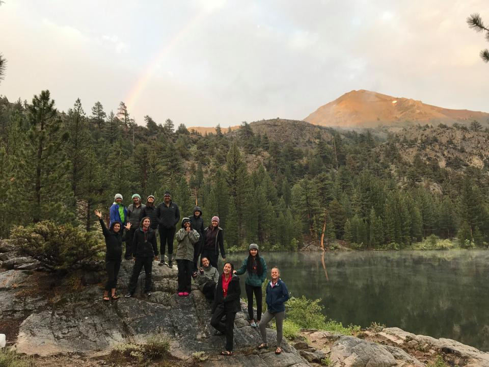 2019 Armstrong Scholars in Yosemite