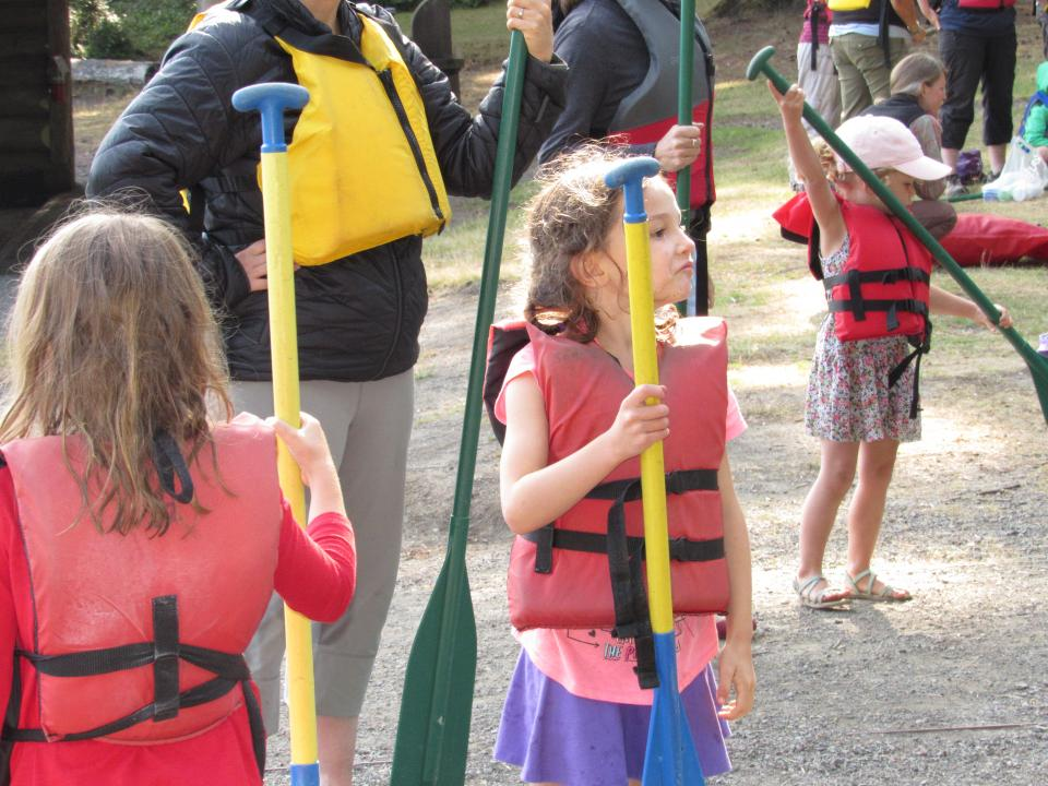pre-canoeing instructions, Olympic Family Programs