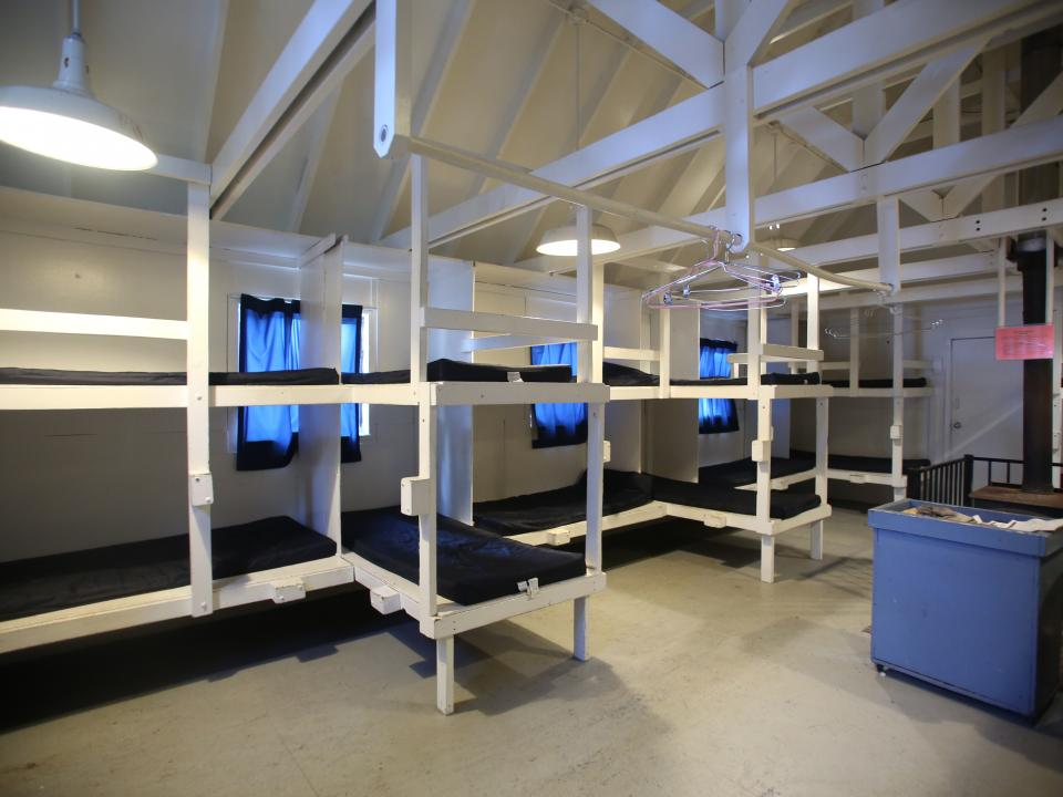 Dormitories at Crane Flat