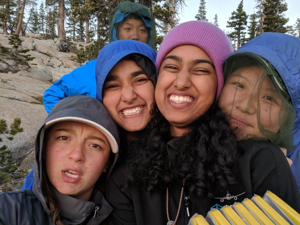 Yosemite 2018 small group selfie