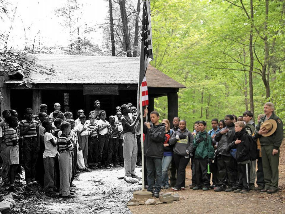 Prince William Forest then and now